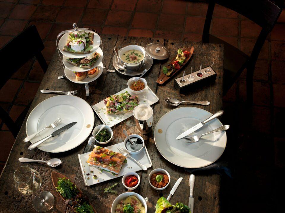 Gedeckter Tisch Silber von Robbe & Berking